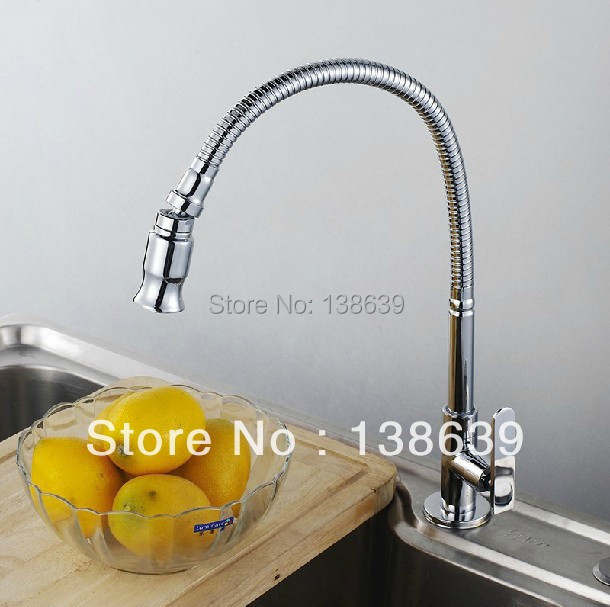 Free shipping hot sale discount kitchen faucets copper kitchen sink ...