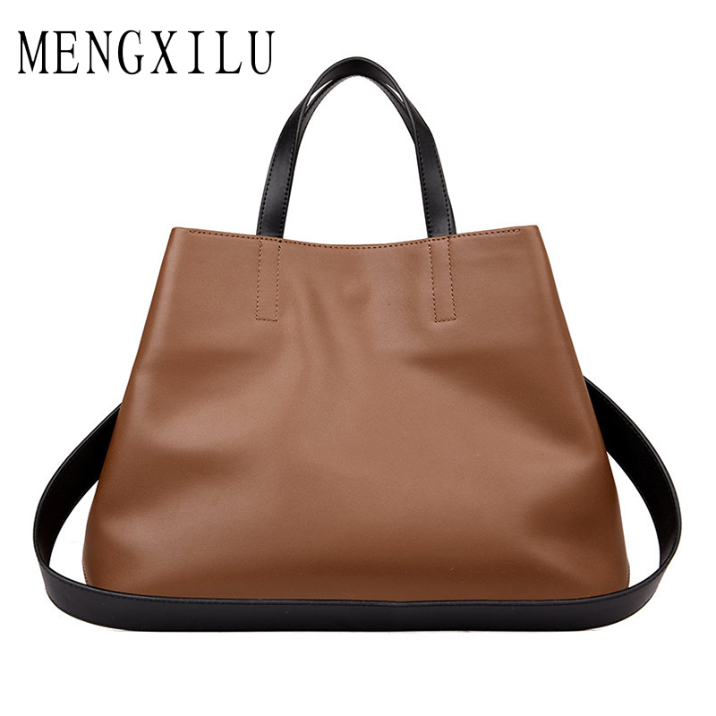 Real Leather Tote Bag Women Genuine Leather Handbags Designer High Quality Shoulder Bags Handbags Women Famous Brand Big Captain soar cowhide genuine leather bag designer handbags high quality women shoulder bags famous brands big size tote casual luxury