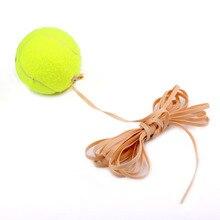 Andux теннисные тренировочные мячи тренажер мяч с резиновый трос теннисные аксессуары DSWQ-01