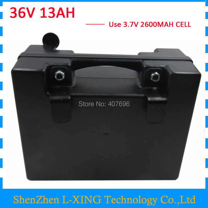 36V 13AH battery 350W 500W 36 V 13ah Electric bicycle battery with waterproof case use 15A BMS 42V 2A Charger Free customs fee liitokala 36v 6ah 500w 18650 lithium battery 36v 8ah electric bike battery with pvc case for electric bicycle 42v 2a charger