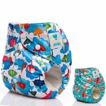 e764d1e2ab9c 5 piezas JinoBaby reutilizable de tela pañales tamaño bebé pañal Couche  Lavable para recién nacido a 13 KG