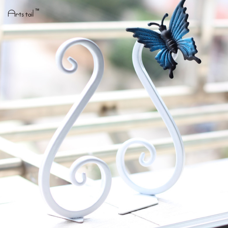 Handmade Iron Creative Bookends Swan Book Holder Classical Modern Combination Baking Paint Office Home Decor Stationery Gifts цена
