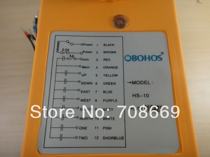 Image 3 - 10 Channels Control Hoist Crane Radio Remote Control System-in Switches from Lights & Lighting