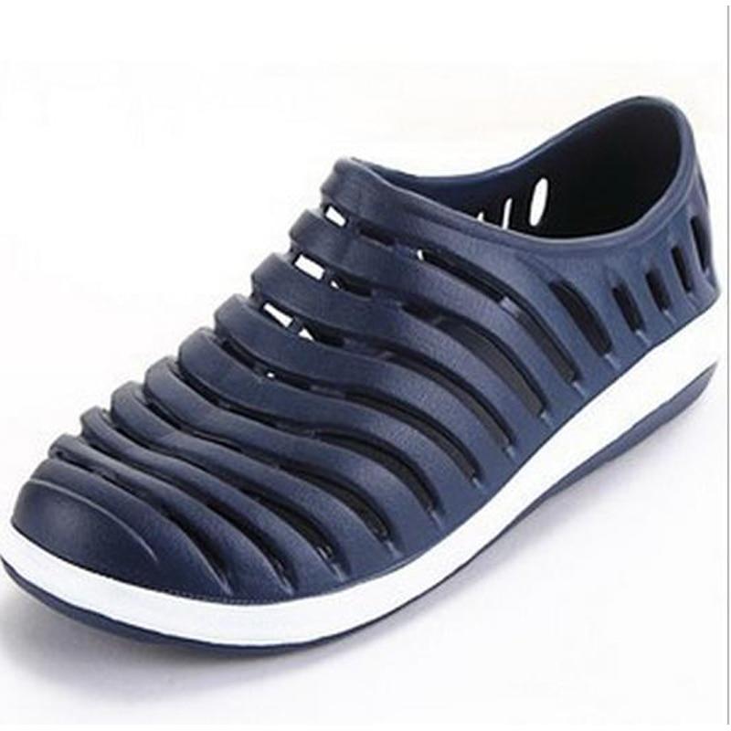 ᑐGarden men casual shoes PVC ⊰ Footwear Footwear Plus Size ...