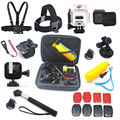 Gopro hero 5 Session Accessories Set with 45M Waterproof Case Stick Lens Protector for Gopro Session hero4 session hero5 Session