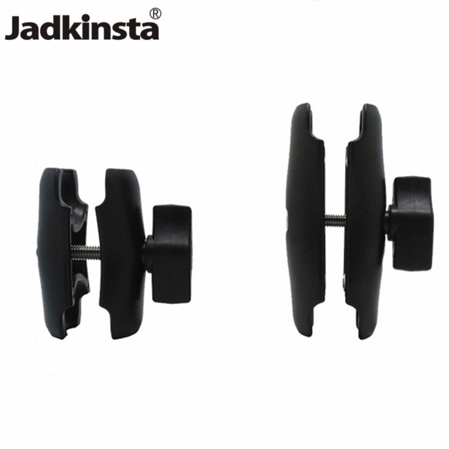 Jadkinsta 65 Or 95mm Double Socket Arm Used With 1 Inch Ball Bases And Holder Mount For Gopro Camera Smartphone For Ram Mount