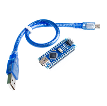 Nano Mini USB с Загрузчиком, совместимый с arduino Nano 3,0 контроллер CH340 USB драйвер 16 МГц Nano v3.0 ATMEGA328P