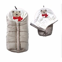 2 Colors Warm High Quality Comfortable Soft Multifunctional Sleeping Baby Bag Stroller Blankets Autumn Winter Children Products