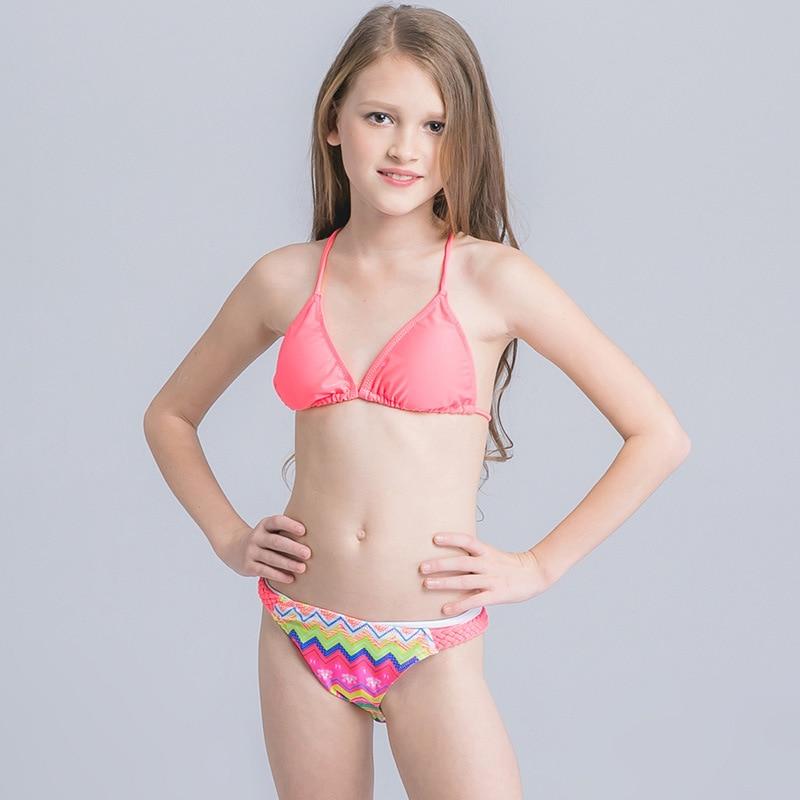 Ganchillo Bikini Para Nias Dos Piezas Baadores 2017 -7240