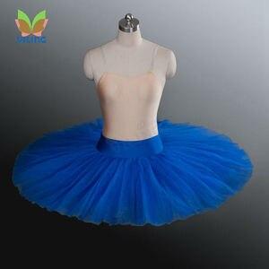 Image 5 - Baletowa spódniczka tutu profesjonalna próba tutu półmisek baletowa spódniczka tutu s ćwicząca pół baletowa spódniczka tutu naleśnik pół tutus dla dziewczynek