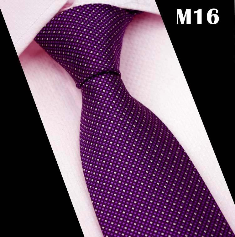 CityRaider Striped Neck Ties For Mens Slim Wedding Neckties