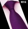 Cravate CityRaider Marca 2016 Nueva Rayada Púrpura Corbatas Para Delgada para hombre de La Boda Corbata 8 cm Ancho Hombre Gravata Corbatas Partido CT067