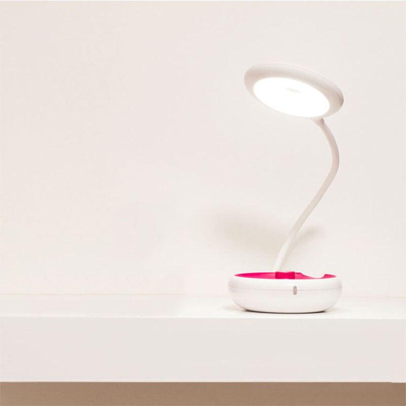 Charge Tactile Interrupteur Lampe Table Usb Pliante Yoyo De Créative UzqVSMp
