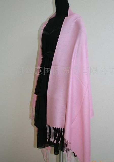 Pink Brand HOT Plaid Fashion Scarf Cashmere Pashmina Women's Lady's Shawl Free Shipping SW24