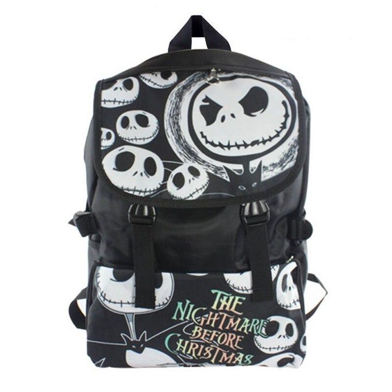 The Nightmare Before Christmas Jack Backpack School Bag Shoulder Bag Travel Bag