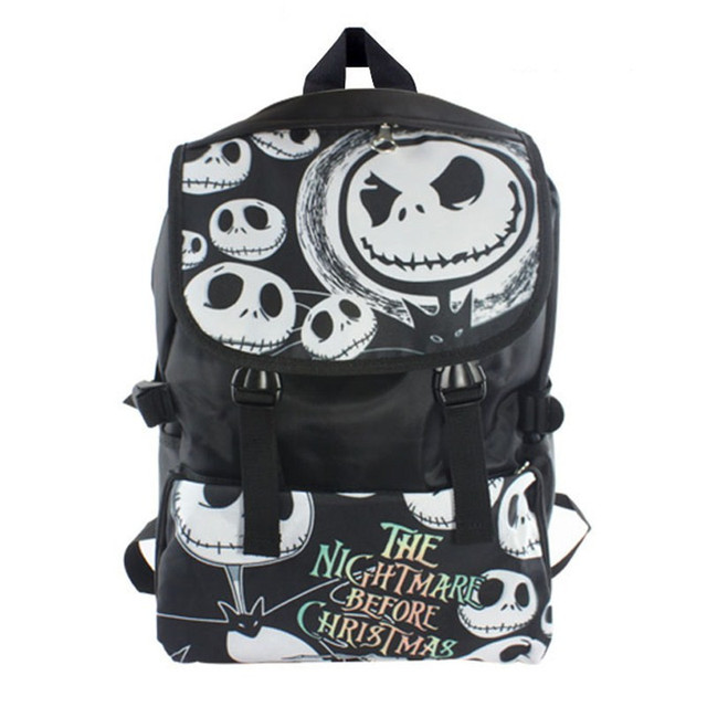 the nightmare before christmas jack backpack school bag shoulder bag travel bag - Nightmare Before Christmas Backpack