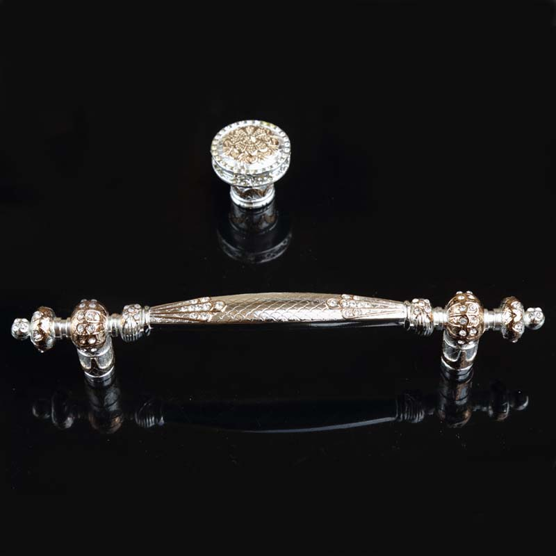 192mm fashion deluxe solid rhinestone furniture decoration handles 160mm glass crystal wardrobe win cabinet door handles silver 96mm fashion deluxe glass clear black crystal villadom furniture decoration handle 3 8 gold drawer cabinet wardrobe door pulls