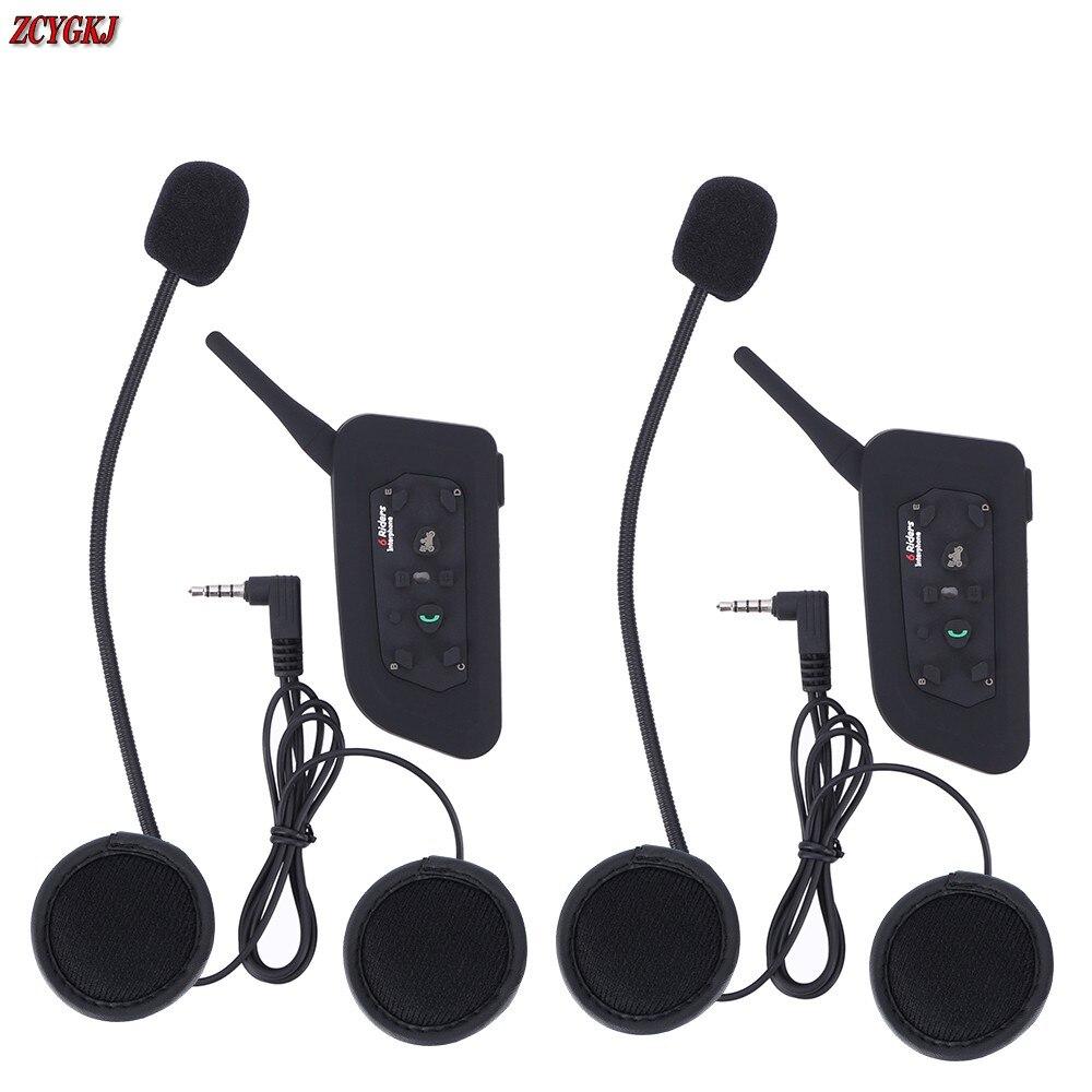 Version 1200M V6 Helmet Intercom 6 Riders Motorcycle Bluetooth Headset font b walkie b font font