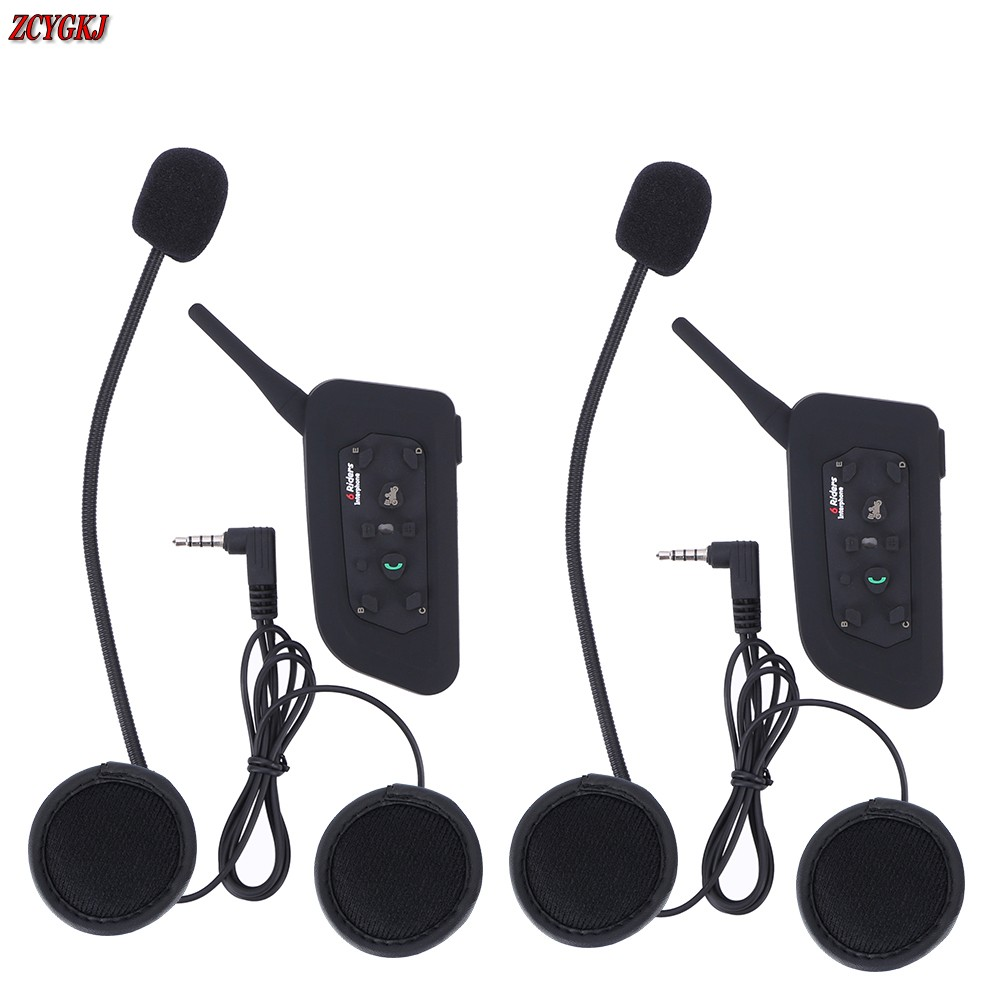 Version!1200M V6 Helmet Intercom 6 Riders Motorcycle Bluetooth Headset walkie talkie Motorcycling Helmet Headphones lexin 2pcs max2 motorcycle bluetooth helmet intercommunicador wireless bt moto waterproof interphone intercom headsets