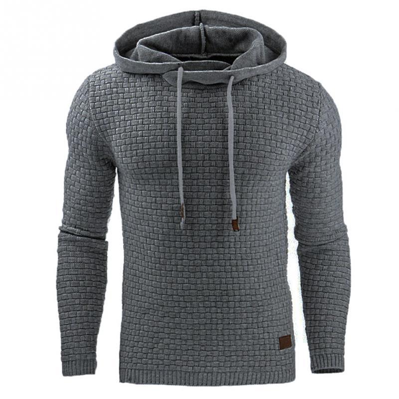 Для мужчин Толстовка и Толстовки хип-хоп Толстовки мужские брендовые Толстовки черный липкий волокна Лоскутная Для мужчин Slim Fit Для мужчин пуловер
