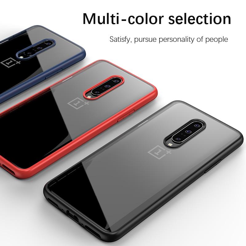 OnePlus 7 için Kılıf IPAKY 7 Pro Durumda Şeffaf Darbeye - Cep Telefonu Yedek Parça ve Aksesuarları - Fotoğraf 4