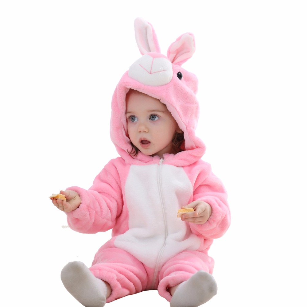 Baby Romper Autumn Winter Newborn Toddle Clothing Baby Girls Romper 3 6 9 12 18 24 Months Cartoon Clothes