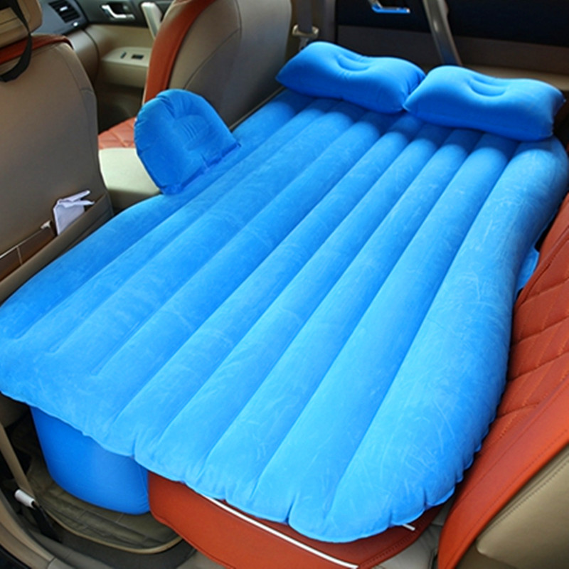 Split lathe Inflatable Travel Mattress Bed Inflatable Sleeping Pad Universal for Back Seat Multi Functional Sofa