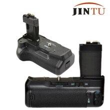 JINTU Pro Батарейная ручка для Canon EOS 550D 600D 650D Rebel T2i T3i T4i DSLR камера как BG-E8 LP-E8 вертикальные жалюзи держатель