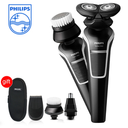 Original Phifips 4 in 1 Shaver Men Electric Razor S526 with Ni-MH Battery Charging Body Washable Shaver Man's Razor 110-240v