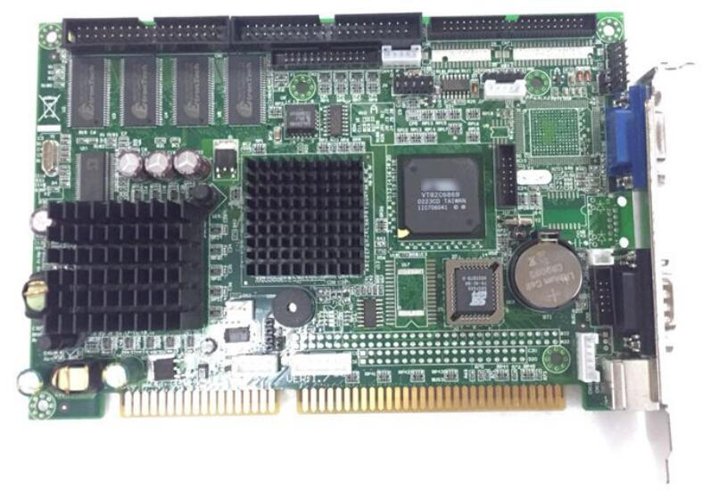 New IPC ISA Board 486 FB2501 FB 2501 Industrial motherboard Half Size CPU Card PICMG1 0