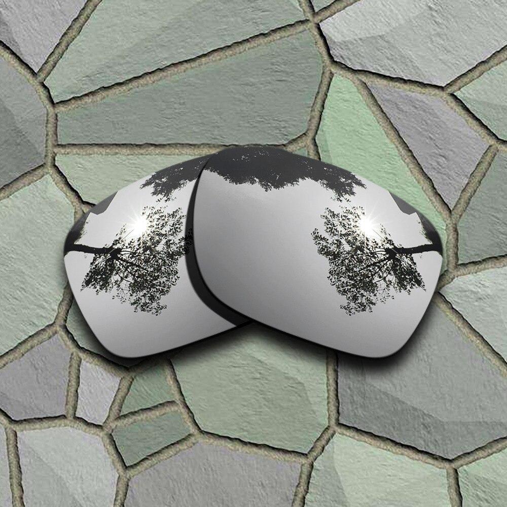 Chrome Titanium Sunglasses Polarized Replacement Lenses For Oakley Holbrook XL
