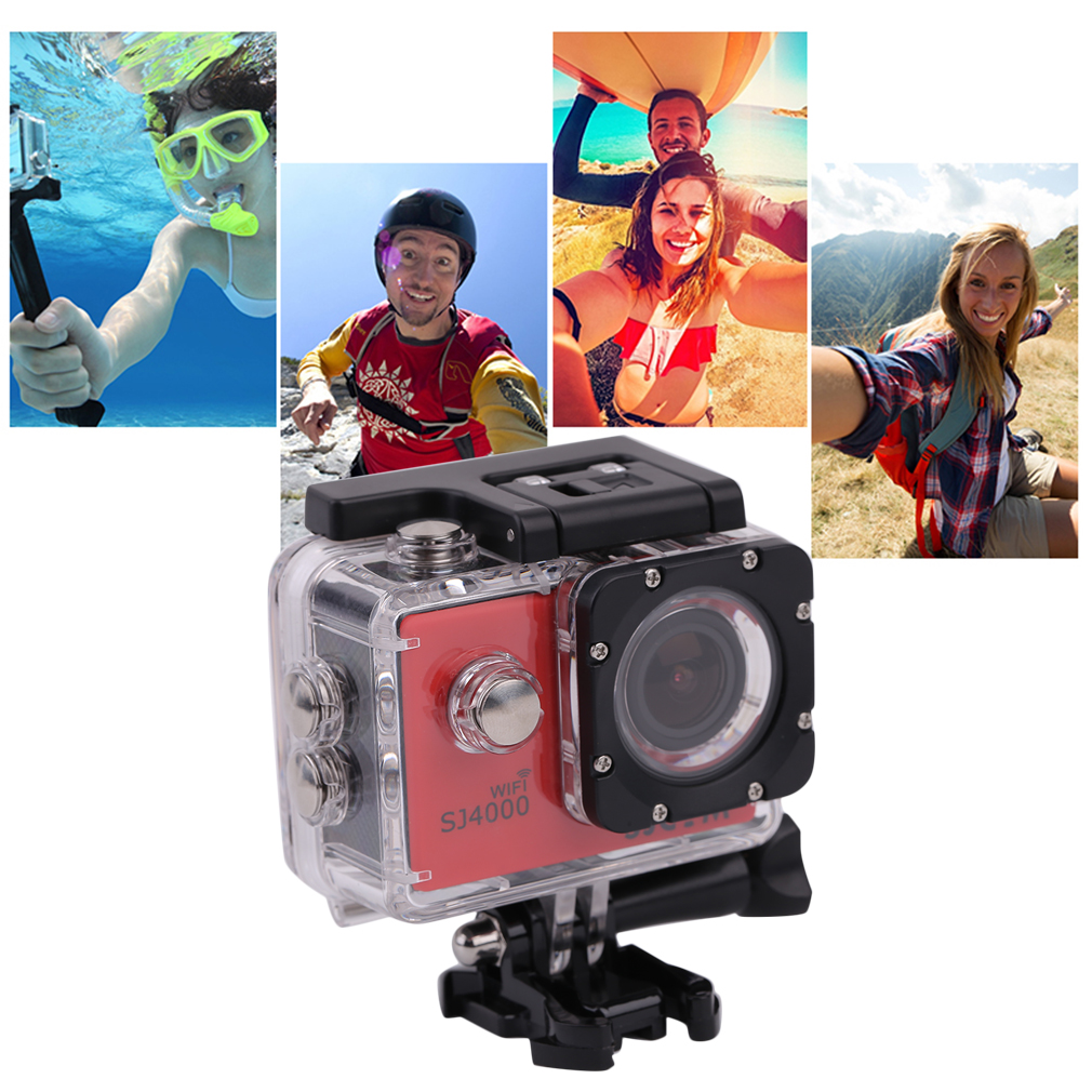 цена на Compact 1.5 Inch LCD Wifi 1080P Full HD Digital Outdoor Sports 170 Degree Waterproof Helmet Camera