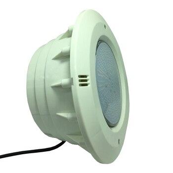 Focos Piscina LED 18W 24W 35W resina llena iluminación Piscina 12VAC luces subacuáticas IP68 Jacuzzi proyector blanco frío cálido