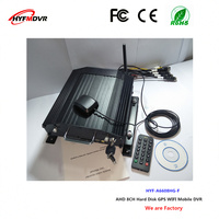 Remote surveillance video recorder GPS WiFi mdvr 8 channel hard disk equipment taxi mobile DVR