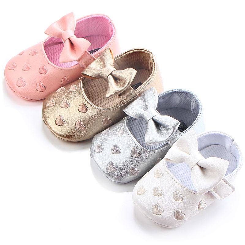 Cute New 1pair First Walkers Girl Baby Shoes,Cheap Soft Shoes, toddlers/Newborn Prewalker-in ...