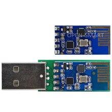 مبرمج تسلسلي لاسلكي USB ذكي مفتوح 2.4G عدة تصحيح الأخطاء على متن CH340 IC متوافقة مع اردوينو UNO R3 3.3 فولت/5.2 فولت