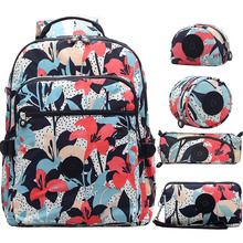ACEPERCH Backpacks Nylon Female Multifunction School-Girl Waterproof Women Mochila Feminina