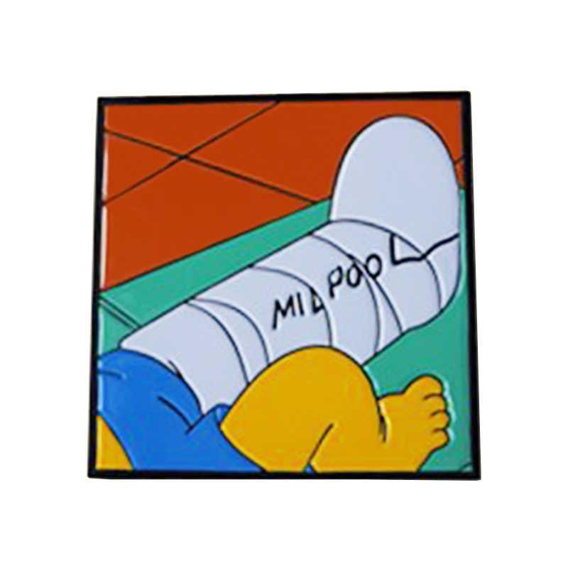 Bart Simpson Bootleg Millhouse Van Houten épingle de piscine