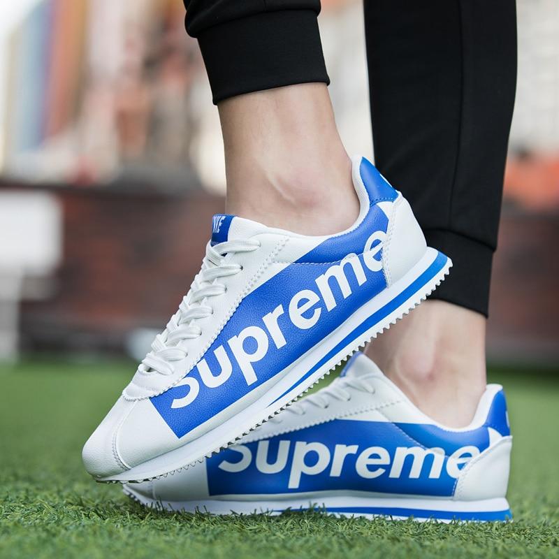 2018 Mesh Sneaker Chaussures Hommes Femmes de Sport Superstar Blanc respirant Chaussures de Course Pour Hommes Et Femmes Taille 35-44