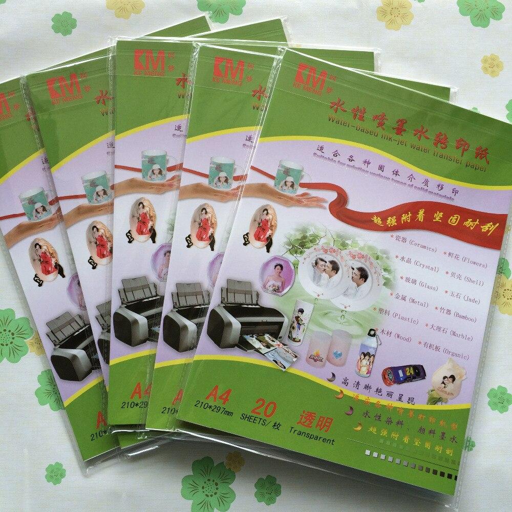 Water slide transfer paper suppliers-7356