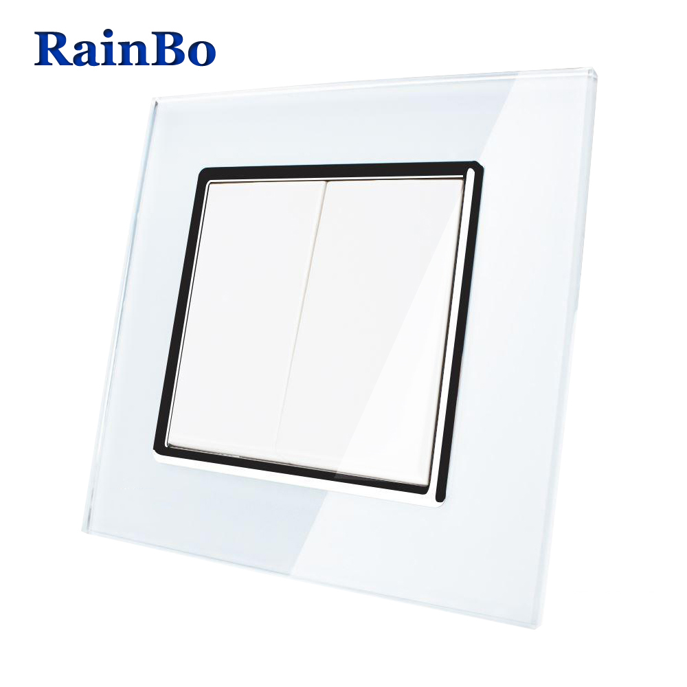 aliexpress com   buy rainbo brand manufacturer 2gang1way