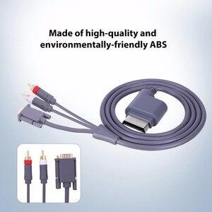 Image 2 - 1.8M HD AV connecteur Audio vidéo câble VGA 2RCA convertisseur câble pour Xbox X   360
