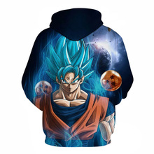 Goku Super Saiyan God SSJ Blue Hoodie