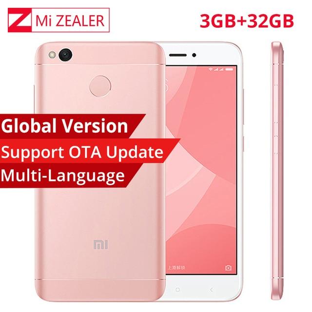 Global Version Xiaomi Redmi 4X 3GB RAM 32GB ROM Moblie...