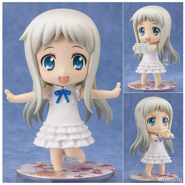 Q Anohana Honma Meiko Menma Action Figure Collection toys for christmas gift with retail box Free shipping 27cm anime cardcaptor sakura action figure pvc collection model toys for christmas gift free shipping with retail box