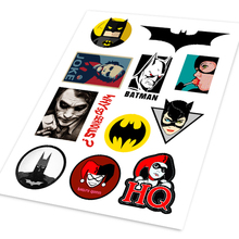 A4 Batman Bat Cartoon Hero Colored Car Styling Waterproof Graffiti Sticker Auto Motorcycle Bike Laptop Skateboard