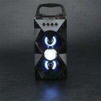 Fabrik preis Heißer Verkauf Multimedia Bluetooth Drahtlose Tragbare Lautsprecher Super Bass mit USB/TF/AUX/FM Radio Drop Verschiffen