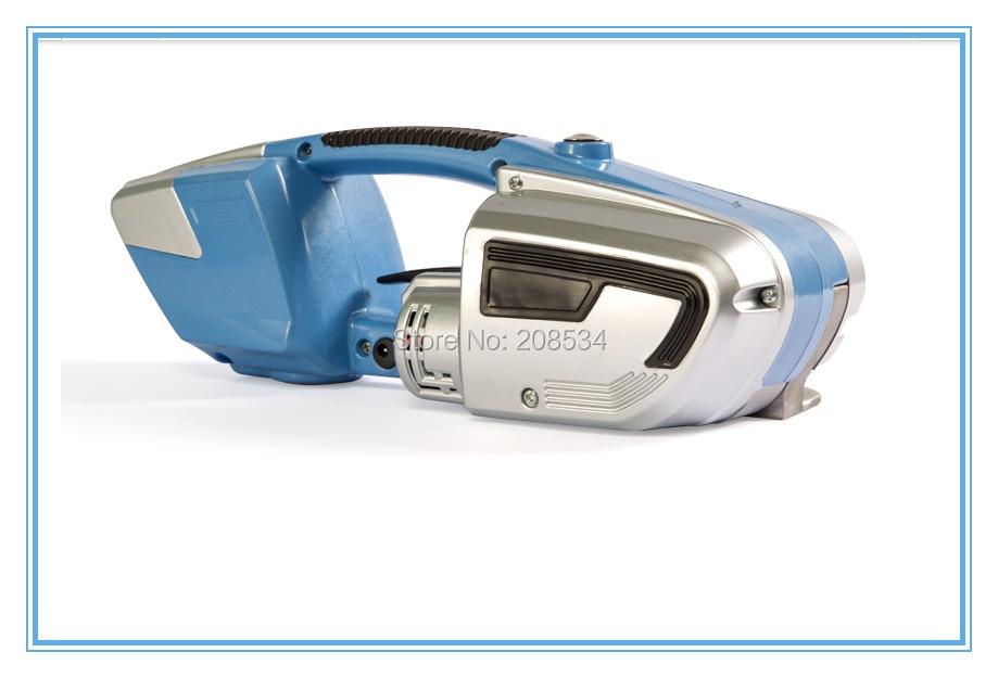 JD16 akumuliatoriaus surišimo įrankis plastikiniam PET PP surišimui, nešiojamasis plastikinis surišimo įrankis 16 mm