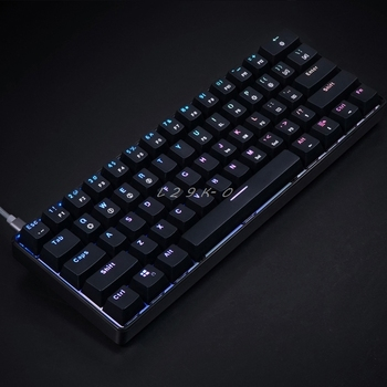 GK61 61 Key Mechanical Keyboard USB Wired LED Backlit Axis Gaming Mechanical Keyboard For Desktop 5
