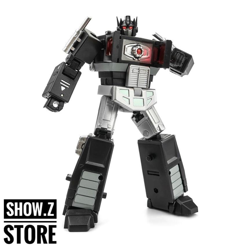 все цены на [Show.Z Store] DX9 X34B Plissken Black Nemesis OP w/ Trailer Transformation Action Figure онлайн